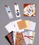 Shiori Ningyo - washi paper doll bookmark kit