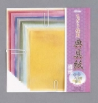 Craft Paper: Tengushi Washi; 16 shts, 5 7/8 Inch sq.