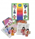 Kimono Paper Doll Making Kit - makes 8 dolls