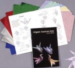 Origami American Style Set: 31 page instruction book by