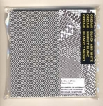 "Black and White Mega Pack 200 sheets 5-7/8"" sq"