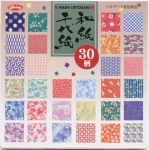 Washi Chiyogami 30 designs 6 inch 150 sheets