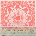 Lace Chiyogami Ruffle 6 inch 36 sheets