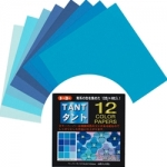 TANT 12 shades-Blue 3 inch 96 sheets