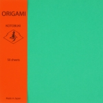 Emerald Green one color 6 inch 50 sheets