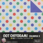 Duo Dot Colorful2 6 colors 6 inch 36 sheets